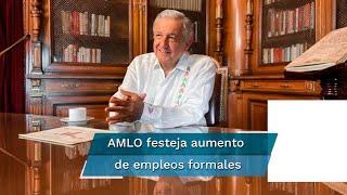 El presidente Andrés Manuel López Obrador presumió que la economía formal ha comenzado a recuperarse y en los primeros 8 días de agosto se dejaron de perder empleos