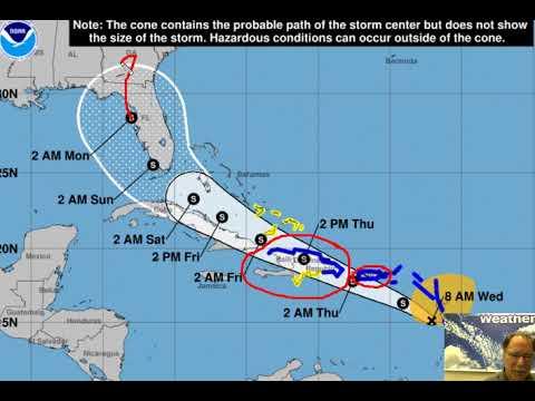 Hurricane Isaias dumps heavy rain on Bahamas, continues to track ...