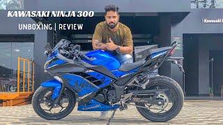 UNBOXING KAWASAKI NINJA 300 | 2018 | REVIEW