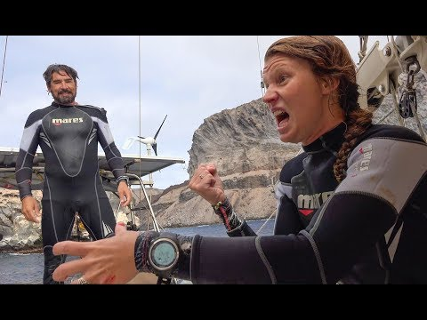 My Scariest Moment Scuba Diving! - Sailing SV Delos Ep. 164