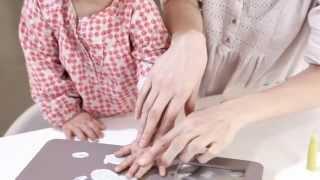 Video: Baby Art You and Me mälestusjäljega fotoraam