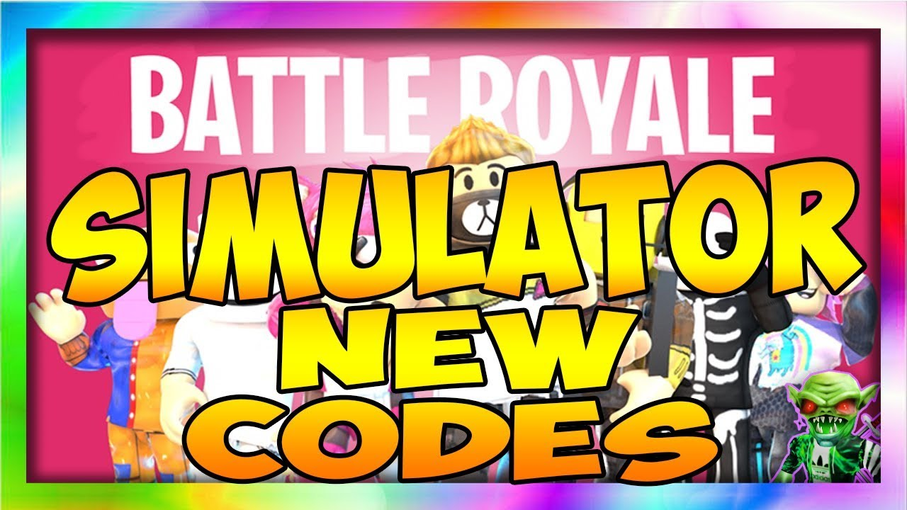 2 New Codes Battle Royale Simulator Roblox Youtube