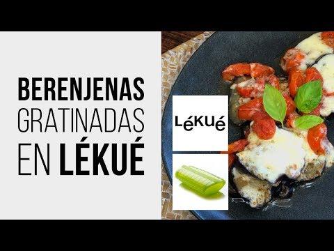 Berenjenas Gratinadas en Lékué