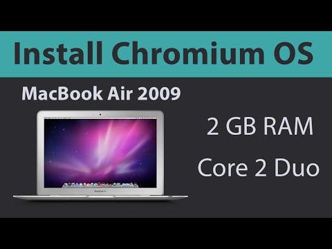 Install Chromium OS On MacBook Air 2009