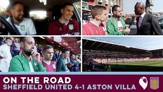 ON THE ROAD   Sheffield United 4-1 Aston Villa