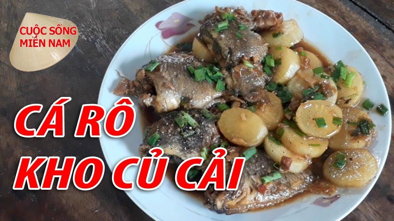 CÁ RÔ KHO CỦ CẢI QUÁ NGON | VietNam Travel - Food
