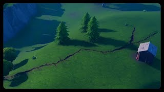 GIANT Earthquake Made Crack in The Map! (Fortnite Season 8)
