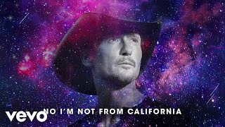 Tim McGraw Not From California