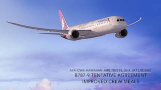 Crew Meal Improvements B787-9TA