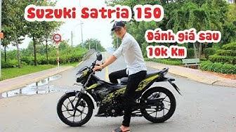 Đánh giá Suzuki Satria/Raider sau 10.000 km