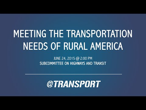 Meeting the Transportation Needs of Rural America