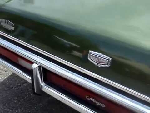 1971 mercury marquis brougham new look looking good youtube publicscrutiny Choice Image
