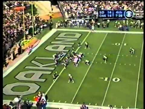Chargers vs. Raiders, 2002