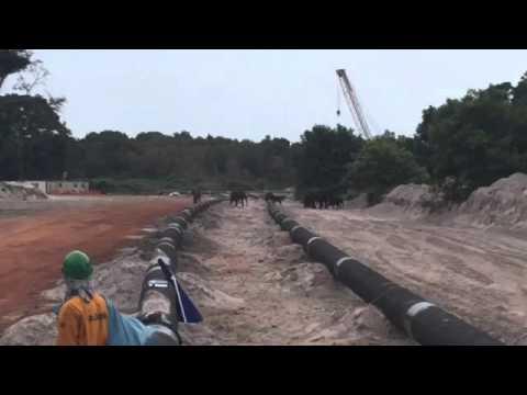 Gabon sealine replacement project
