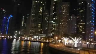 Dubai 2016, Dubai Marina, walk on the yacht
