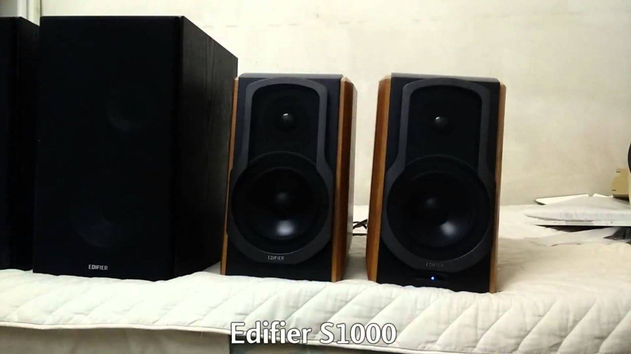 Edifier S1000DB Speaker Unboxing and Review 2015