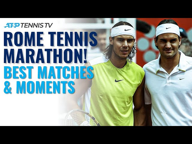 Rome Tennis Marathon! The Best Highlights & Moments From the Rome Masters