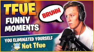 TFUE Funny Moments - TFUE Highlights Fortnite Best Moments