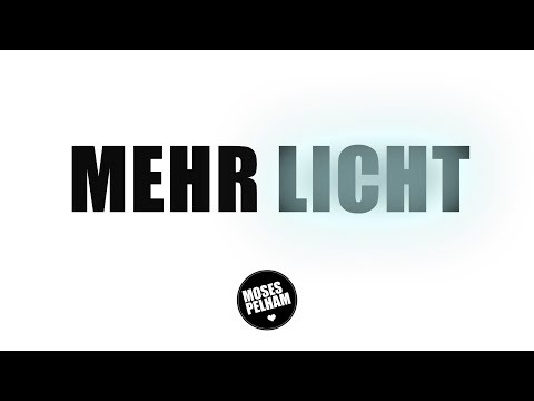Moses Pelham Mehr Licht Lyric Video Official 3ptv Youtube