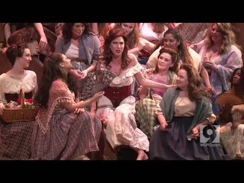 "Cincinnati Opera and Stacey Rishoi as ""Carmen"""