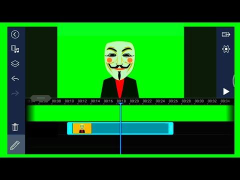 How to create Green Screen video using powerdirector tutorial?//