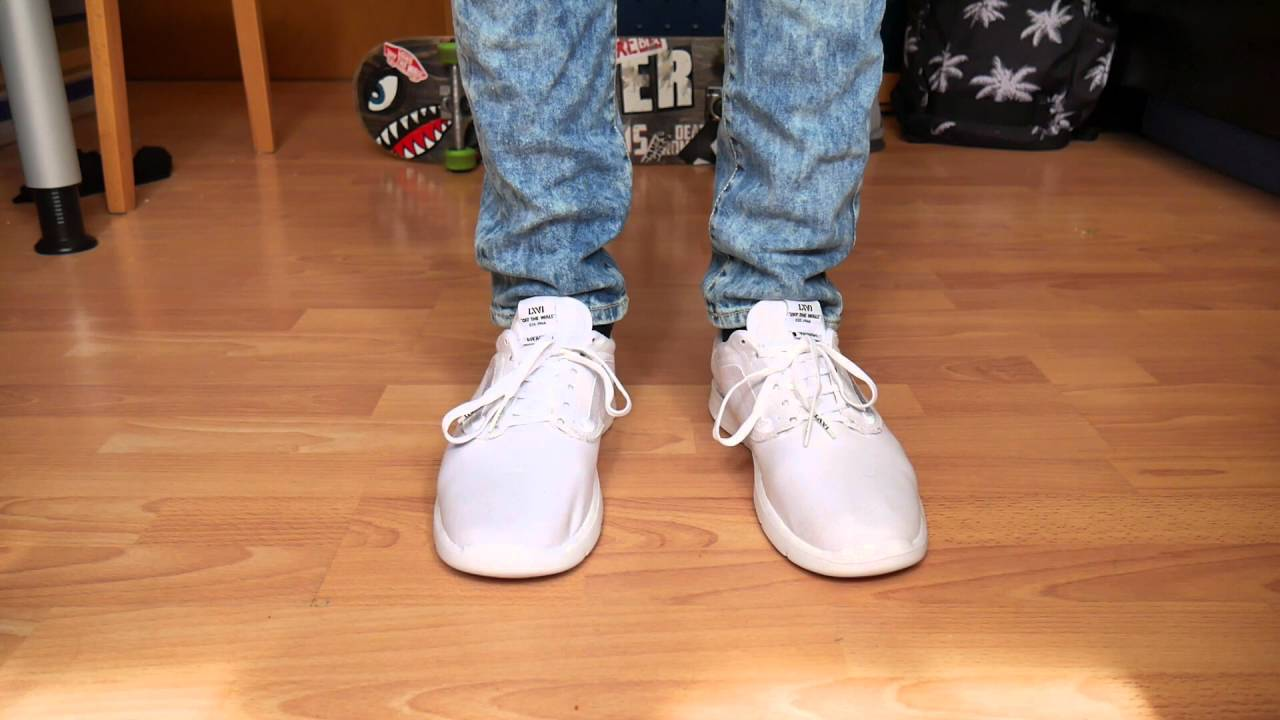 b459c73c981293 Vans Iso 1.5 MONO WHITE - On Feet - YouTube