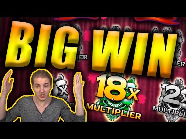 BIG WIN on PEKING LUCK Slot