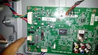 TV Philips 32 polegadas não liga, problema resolvido.