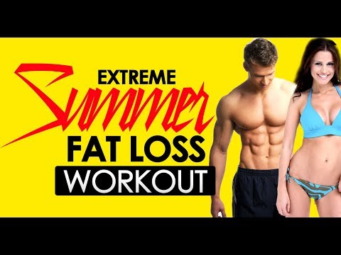 15min Extreme Summer Weight Loss Workout – Tabata – 100% Bodyweight – Sixpackfactory