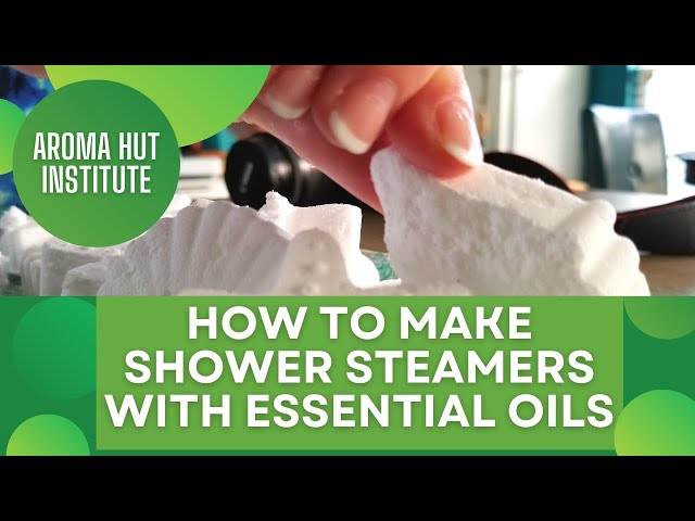 Shower Steamers | DIY Recipe  Shower Melts With Essential Oils