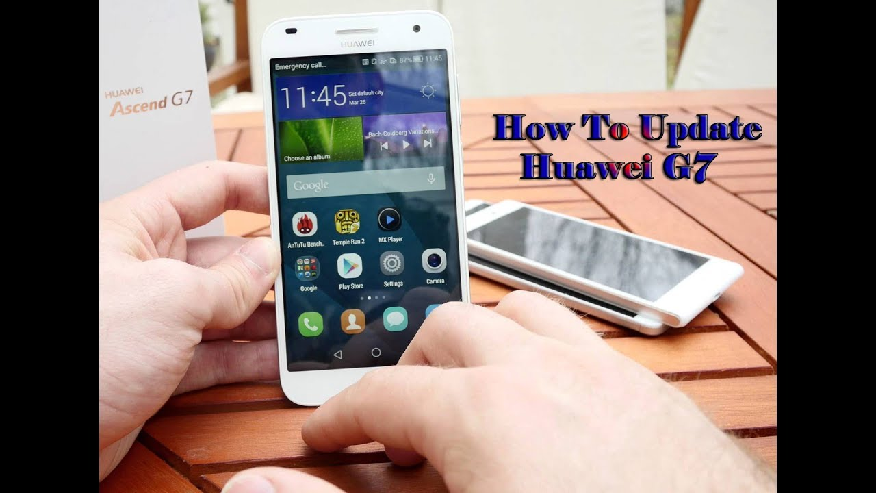 How to flash stock firmware UPDATE APP | HUAWEI G7