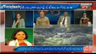 Shut up call by Indian Lady Media Editor to Pakistani Analyst