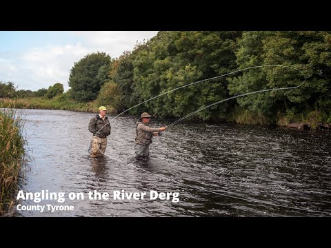 Salmon Fishing On The River Derg, Co Tyrone