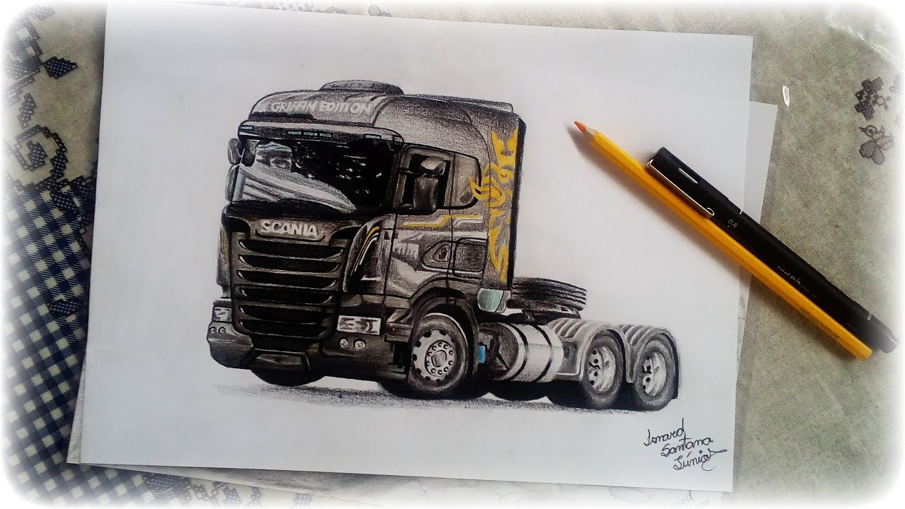 Desenho Scania Griffin Edition 14 By Isnard Youtube