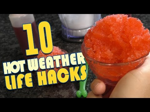 Thumbnail: 10 Hot Weather Life Hacks To Keep YOU Cool