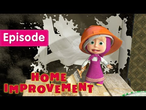 Thumbnail: Masha and The Bear - Home Improvement 🏠 (Episode 26)