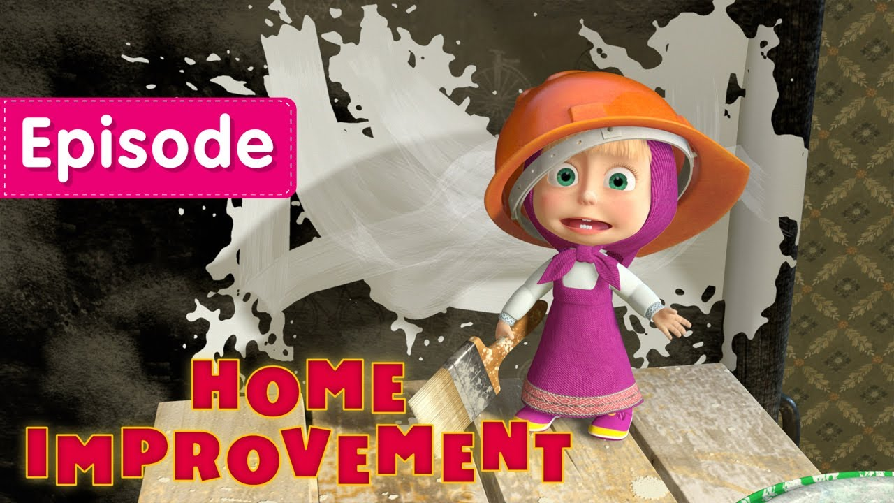 Masha And The Bear Home Improvement 🏠 Episode 26