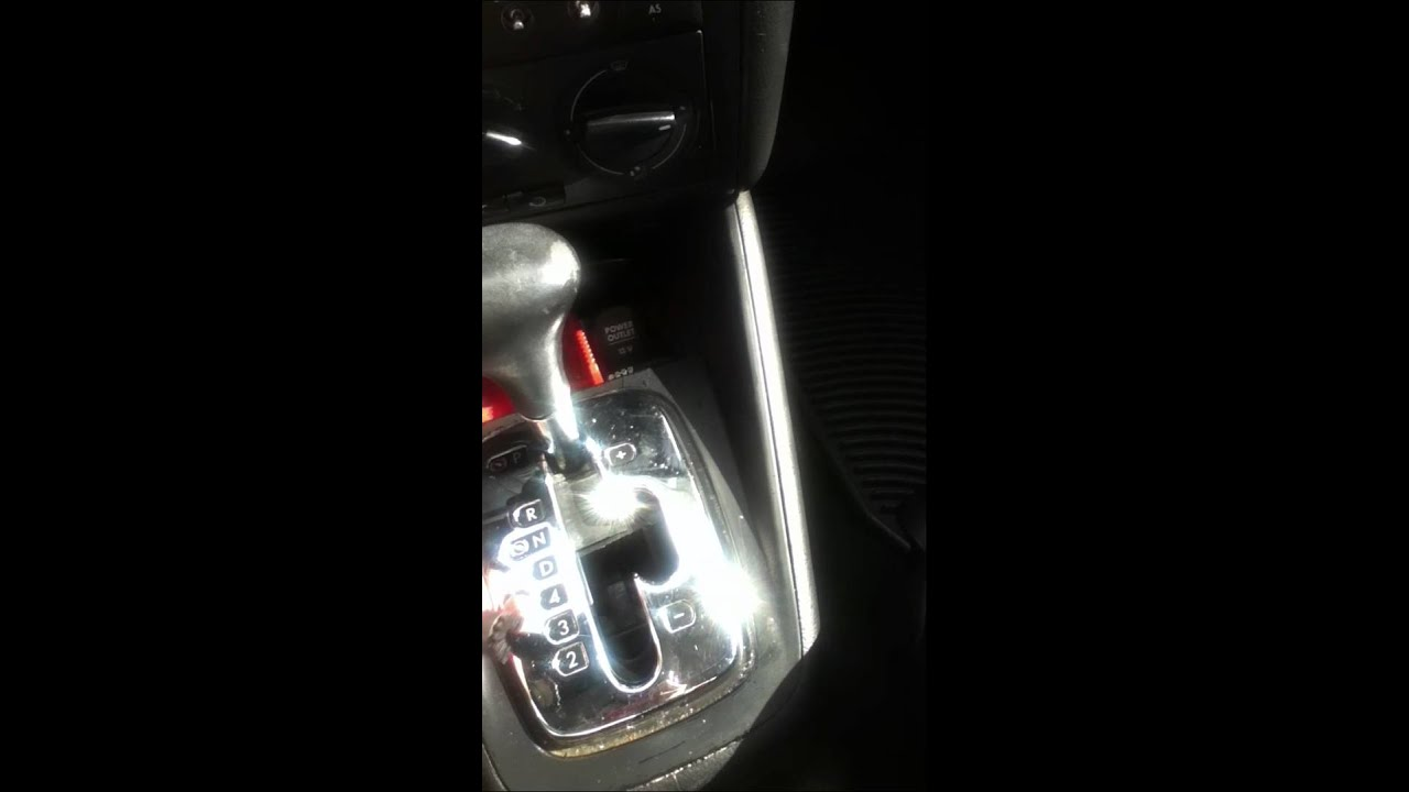 Shifter Assembly Issue On Vw Jetta 1 8t Youtube