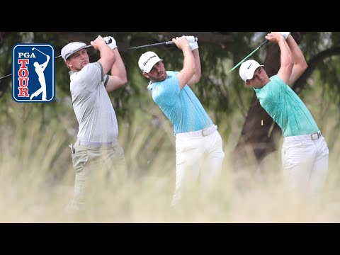 DeChambeau, Wolff & Champ attack par 4s and par 5s at Shriners in Round 2