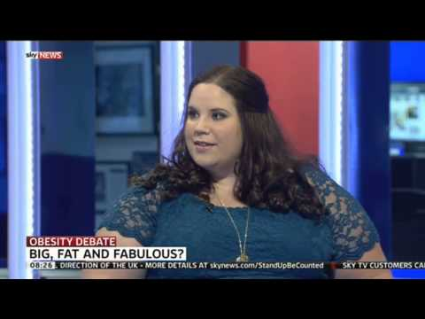Obesity Debate: Whitney Thore On The No Body Shame Campaign