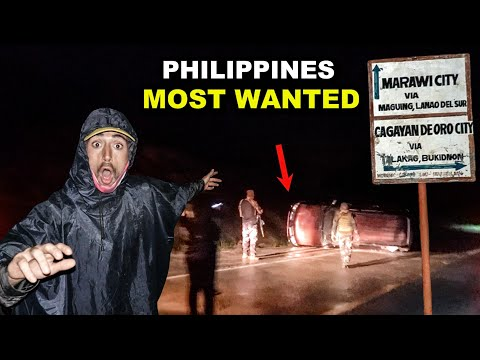 THE ROAD TO MARAWI | Philippines Most Dangerous Travel Route (Canadians Encounter Military Crash)