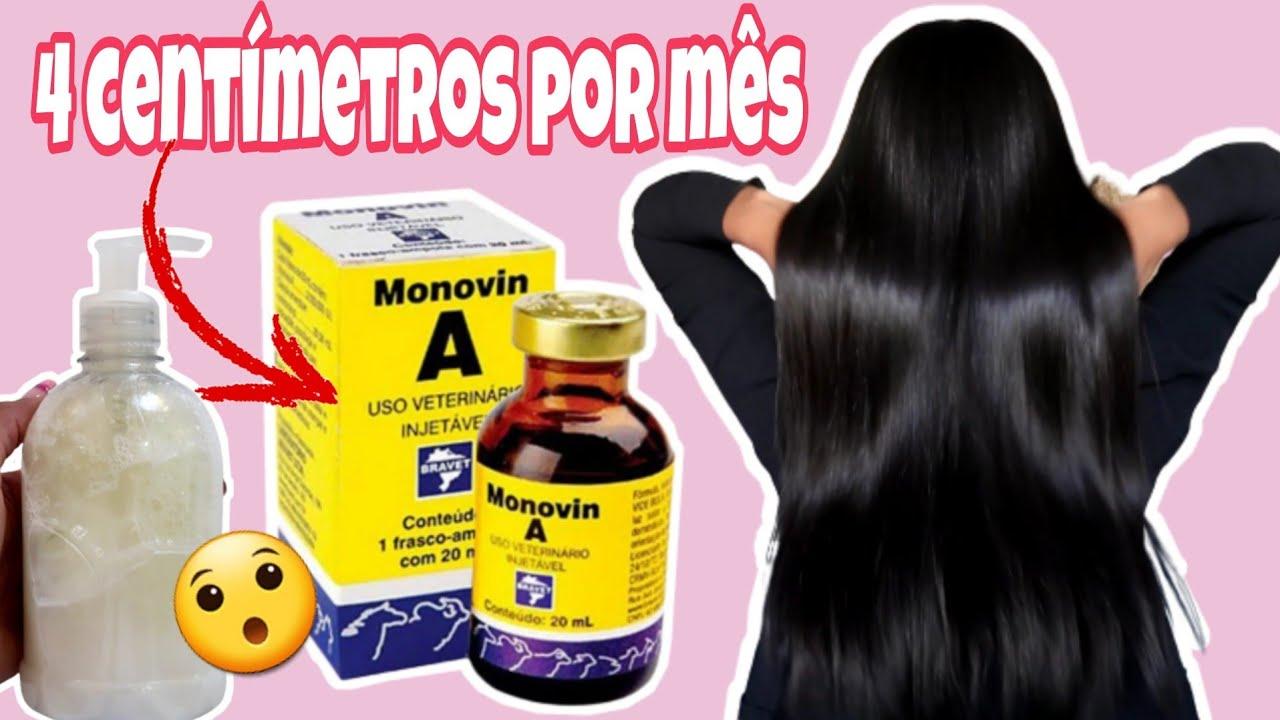 shampoo POTENTE que faz CRESCER MUITO CABELO e faz nascer fios novos!