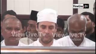 RAHUL GANDHI VISIT  ULLAL SAYYED MADANI DARGA SHAREEF