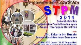 BTPN Terengganu 2015 | Pengumuman STPM 2014