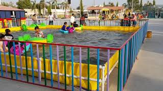 Water Pool with Padel Boats | Super Amusement Games