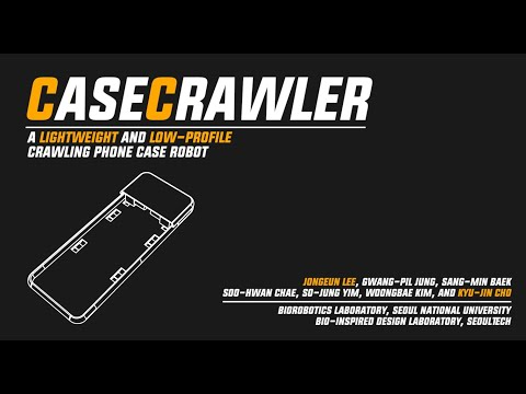 CaseCrawler: A Lightweight and Low-Profile Crawling Phone Case Robot