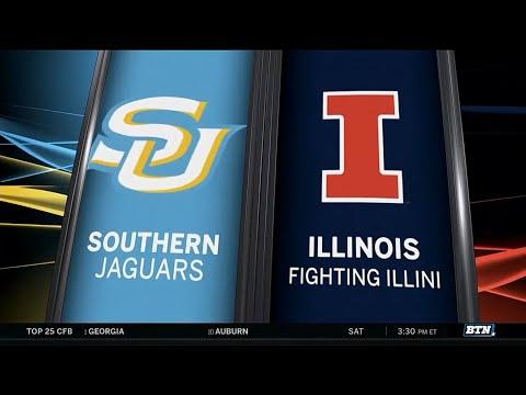 Southern at Illinois - Men's Basketball Highlights