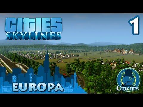 Cities Skylines - Europa - Primera piedra #1 en español