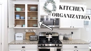 KITCHEN ORGANIZATION AND IDEAS 2019 | DECLUTTER AND ORGANIZE WITH ME