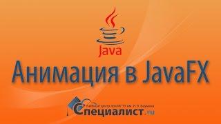 Анимация в JavaFX